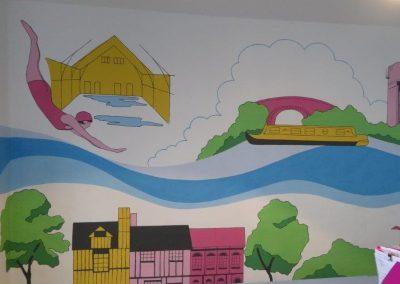Jennifer Foxley Wall Mural Artist Commercial Spaces