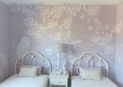 Jennifer Foxley Wall Mural Artist Bedrooms