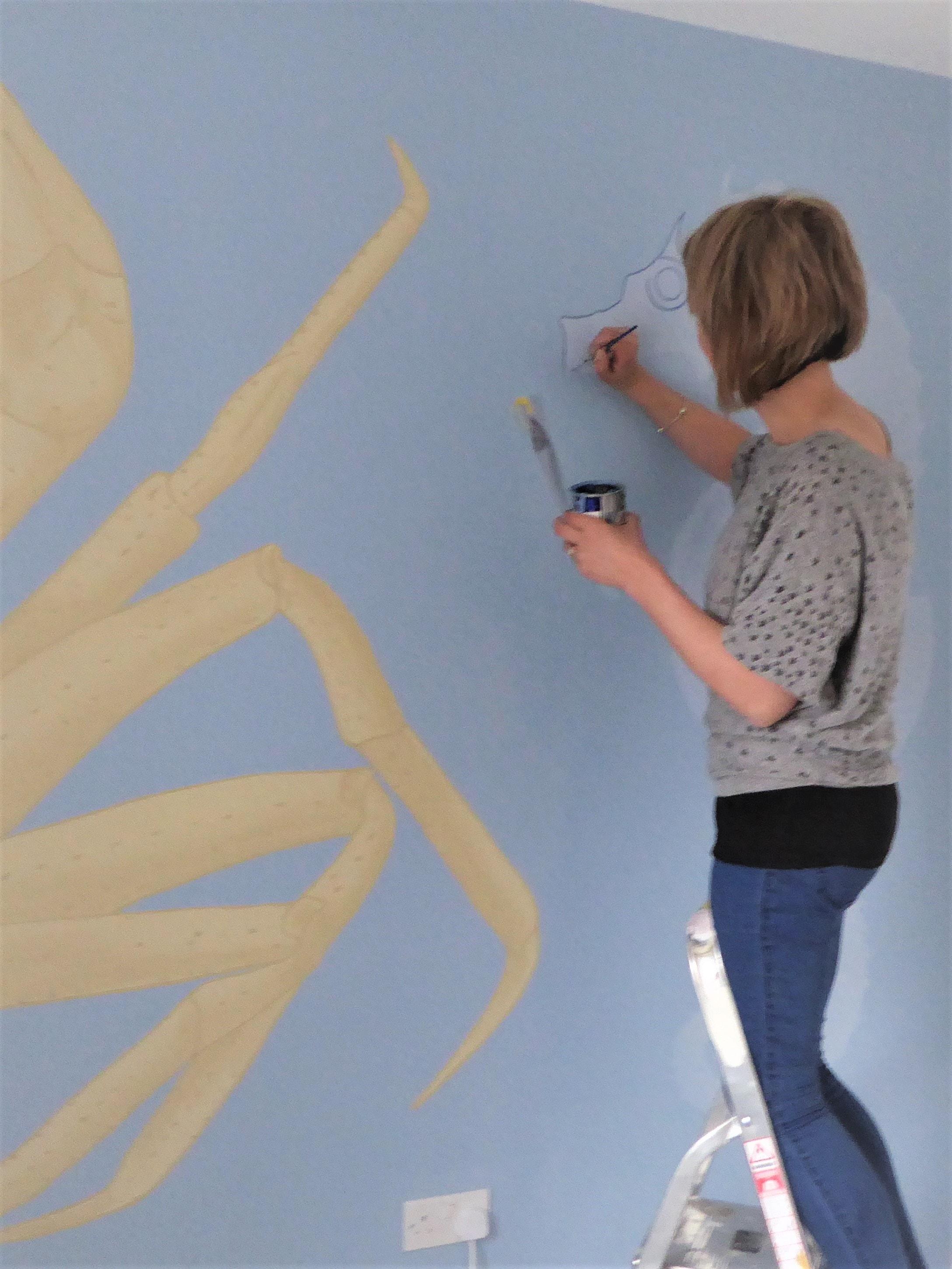 Jennifer Foxley Wall Mural Artist