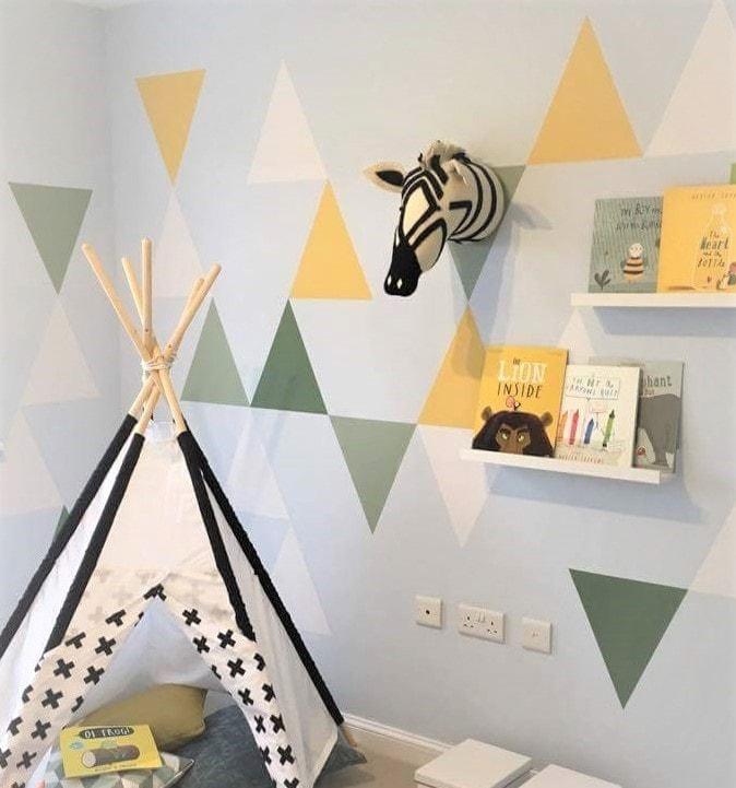 Chidlren's bedrooms- Jennifer Foxley Wall Mural Artist