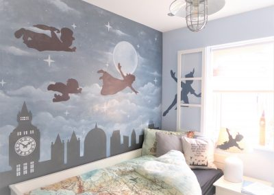 Jennifer Foxley Wall Mural Artist | Hand painted murals for Children's bedrooms